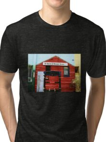 The Jamieson and Woodspoint Chronicle Mural Tri-blend T-Shirt