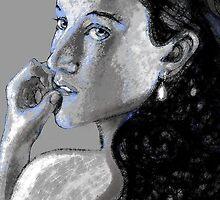 Kel Blue, too! by Susana Weber