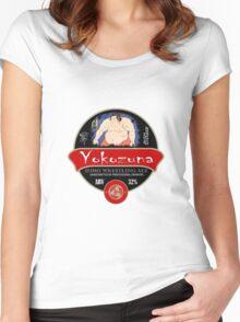 Yokozuna Sumo Beer Women's Fitted Scoop T-Shirt