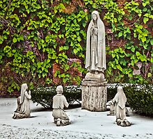 St. Leonard's Peace Garden - Boston, MA by Stephen Cross Photography