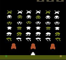 Lost 80s - Where is my Space Invaders? by alexandrereis