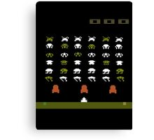 Lost 80s - Where is my Space Invaders? Canvas Print