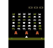 Lost 80s - Where is my Space Invaders? Photographic Print