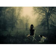 Dog days are over Photographic Print
