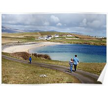 Into the blue - St. John's Peninsula, Donegal Poster