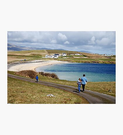Into the blue - St. John's Peninsula, Donegal Photographic Print
