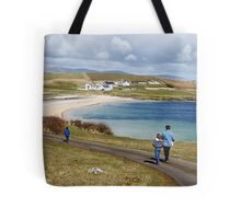 Into the blue - St. John's Peninsula, Donegal Tote Bag