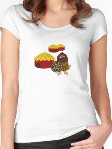 Ancient Village Women's Fitted Scoop T-Shirt