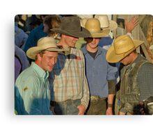 Cowboy Internet Canvas Print