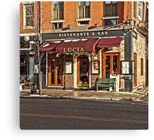 Lucia - Boston, MA Canvas Print