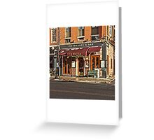 Lucia - Boston, MA Greeting Card