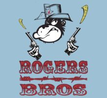 wild west tshirt rogers bros construction co by ukcornwell