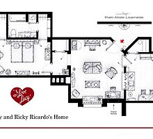 Lucy and Ricky Ricardo's apartment by Iñaki Aliste Lizarralde