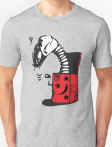 monkey in box tshirt by rogers bros construction T-Shirt