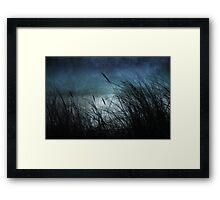 Night Dunes Framed Print