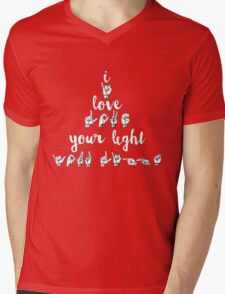 I Love Your Light - Spring Awakening Mens V-Neck T-Shirt