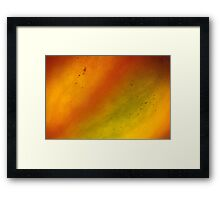 hot storm Framed Print
