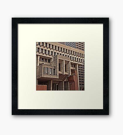 City Hall - Boston, MA Framed Print