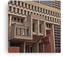 City Hall - Boston, MA Canvas Print
