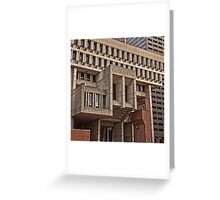 City Hall - Boston, MA Greeting Card