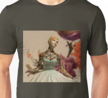 Tattooed Lady by Jessica Harrison at Banksy's Dismaland Unisex T-Shirt