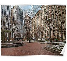 Norman B. Leventhal Park - Boston, MA Poster