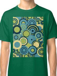 Circledelic - blue/green Classic T-Shirt