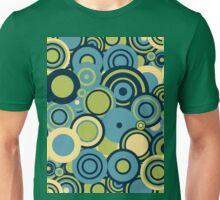 Circledelic - blue/green Unisex T-Shirt