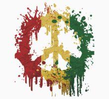 peace rasta Kids Clothes