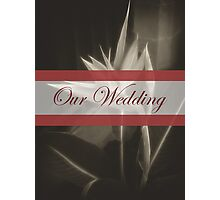Antiqued Bird of Paradise 10 Our Wedding Photographic Print