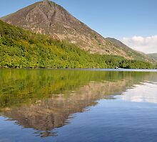 Crummock Water Summers Afternoon by Jacqueline Wilkinson