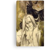 Coarse Canvas Print