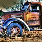 Old Truck Sunset Texas 2 by jphall