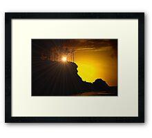 THE BEAKON OF LIGHT Framed Print