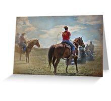 Cowgirl Greeting Card