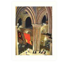 St Magnus Cathedral Art Print