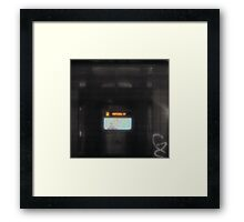 graffic grunge for Keith Framed Print