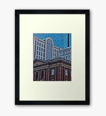 City View - Boston, MA Framed Print