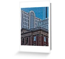 City View - Boston, MA Greeting Card