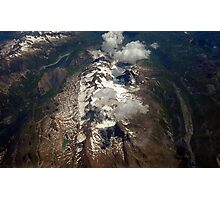 Alpes   over Grenoble Photographic Print