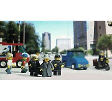 Lego Bodyguards Photographic Print