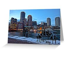 1800 Harbor View - Boston, MA Greeting Card