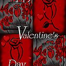 """""""Happy Valentines Day Card#1"""" by Steve Farr"""