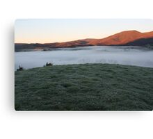 layer cake morning Canvas Print