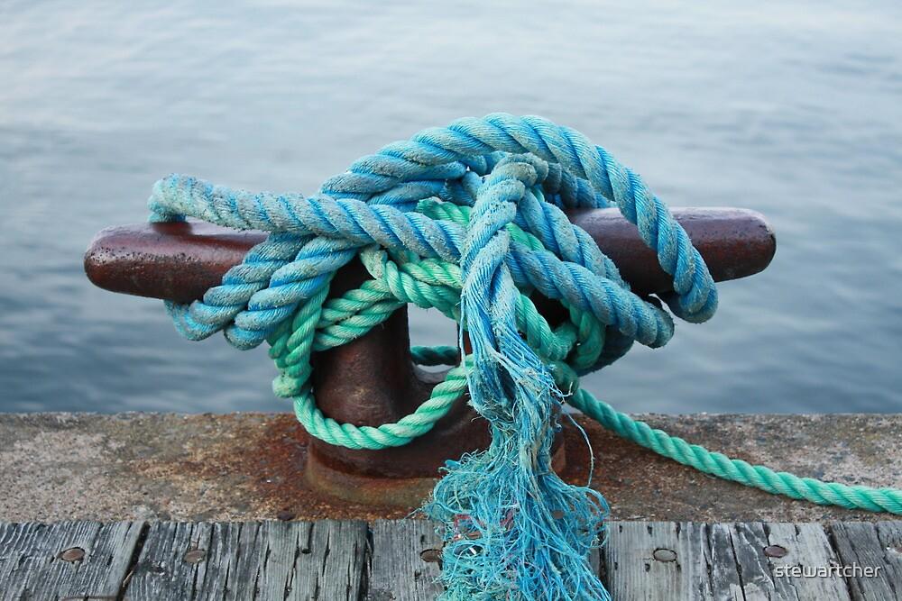 Boat mooring - Halifax  by stewartcher