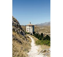 Italian Monuments - In that quiet Earth - Rocca Calascio Photographic Print