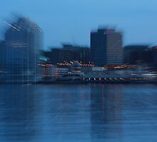 Evening Blur - Halifax Harbour by stewartcher