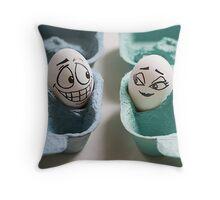 An Eggbert love affair... Throw Pillow