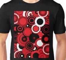 Circledelic - red/white/black Unisex T-Shirt