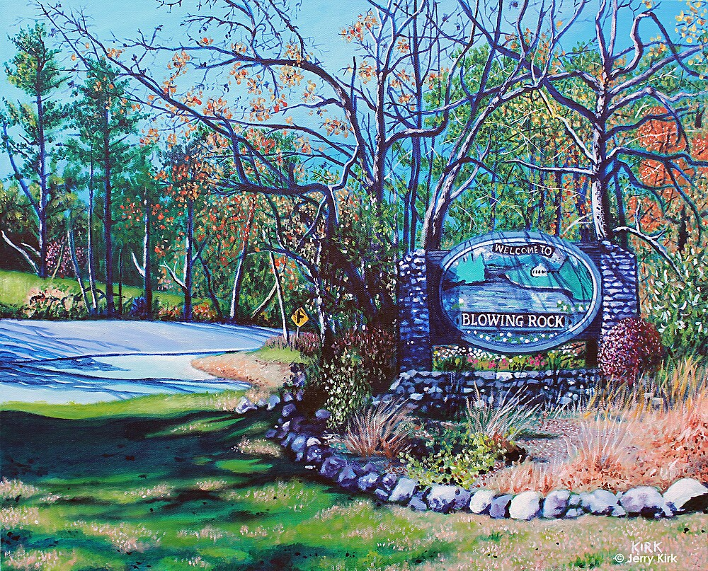 'Welcome to Blowing Rock' by Jerry Kirk